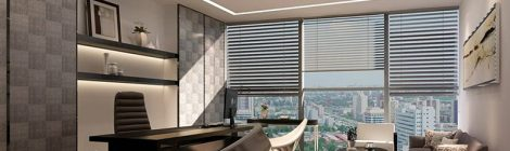 总经理办公室设计五要素:位置、路线、形状、面积及家具