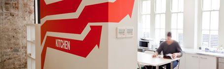 办公室墙面装饰构造:原则、形式与方法