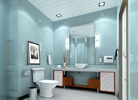 卫浴装修案例大全 享受生活的惬意