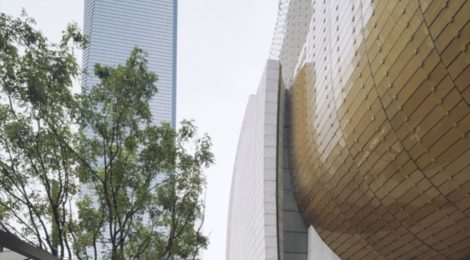 扭动的绮丽诗篇:超级写字楼之上海中心