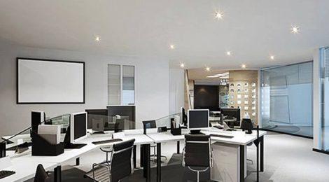 办公室装修中色彩的对比与协调