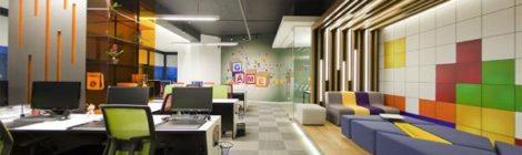 办公空间设计的效果图的表达