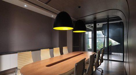 办公空间设计对界面与形式的研究