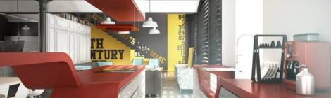 什么是创意墙面办公室装饰?