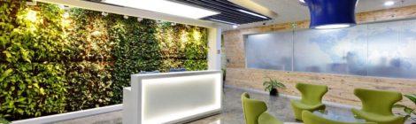空间与灯光布置是办公室设计的关键