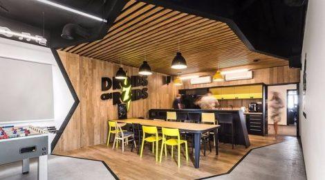 如何鉴别办公室装修仿古实木地板