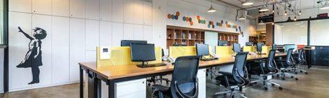 办公室装修空间色彩搭配平衡与协调有哪些技巧?