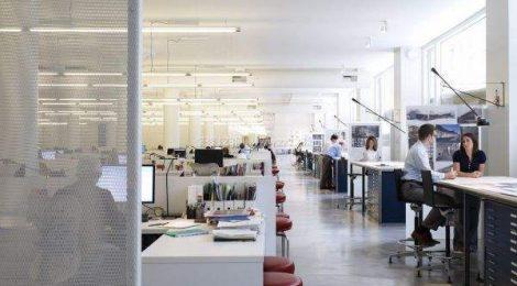 上海办公装修设计如柯体现美学法则?