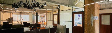 如何粘铺办公室装修所用塑料地板卷材