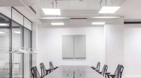 办公室装修建筑中照明设计的要求