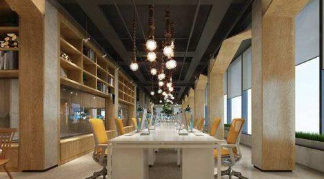 办公空间设计装修中地面装饰材料