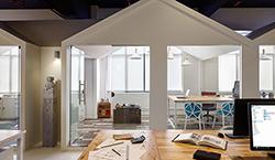 小型办公室装修案例