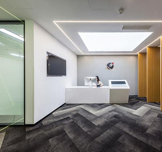上海弘创融资租赁办公室设计